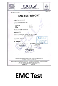 گواهینامه EMC Test محصولات رایمند