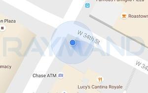 صحت اندازه گیری های GPS/GNSS روی ابزارهای نمایش نقشه